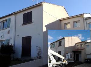 Entreprise Boju ravalement façade et nettoyage de toiture.