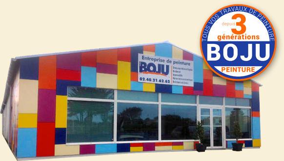 Facade entreprise Boju peinture