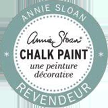 Logo de la marque Annie Sloan peinture décoratif-Entreprise Boju revendeur officiel